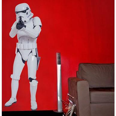 Star Wars Stormtrooper Väggdekal thumbnail