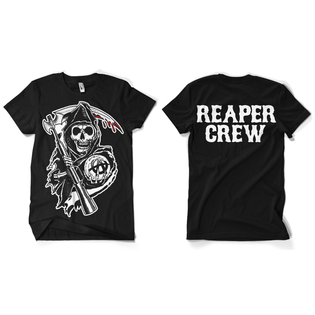 Sons Of Anarchy SOA Reaper Crew T-Shirt thumbnail