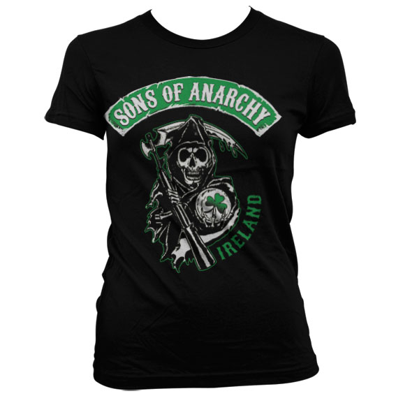 Sons Of Anarchy Ireland Girly T-Shirt thumbnail