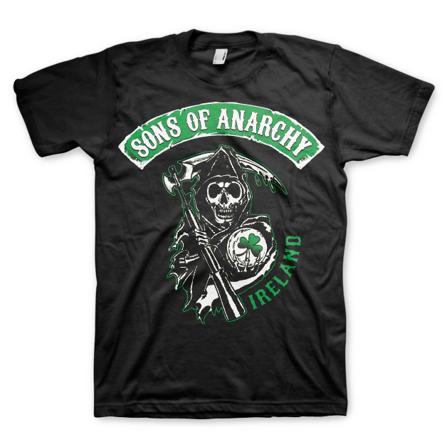Sons Of Anarchy Ireland T-Shirt thumbnail