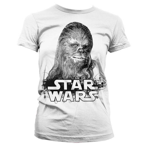 Star Wars Chewbacca Girly T-Shirt
