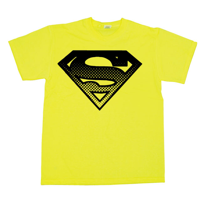 Superman Halftone Shield T-Shirt thumbnail