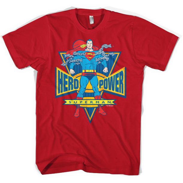 Superman Hero Power T-Shirt thumbnail