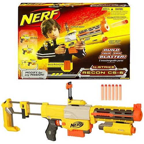NERF N-Strike Recon CS-6 Build-It Blaster Gun with Foam Ammo