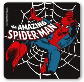 Marvel Spindelmannen Drinkunderlägg Svart 6-pack thumbnail