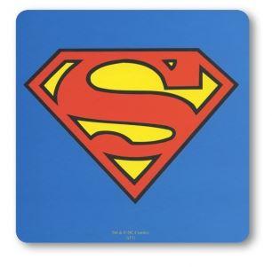 Superman Logo Drinkunderlägg Blå 6-pack