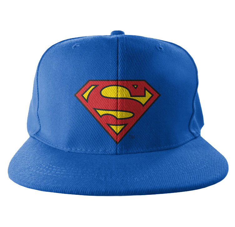 Superman Shield Snapback Keps thumbnail