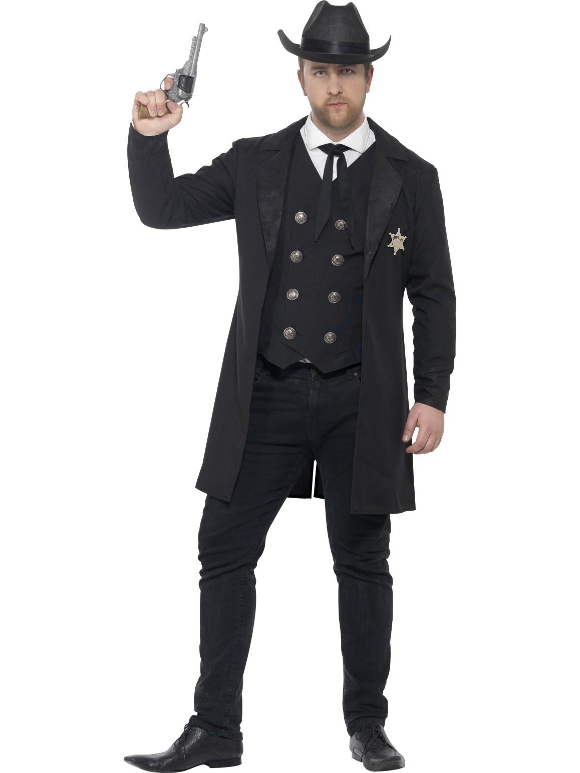 Maskeradkläder Vuxna - Sheriff Maskeraddräkt