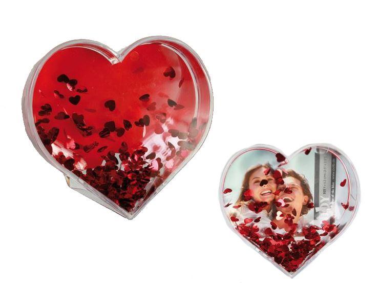 Hjärta med kort och hjärtan