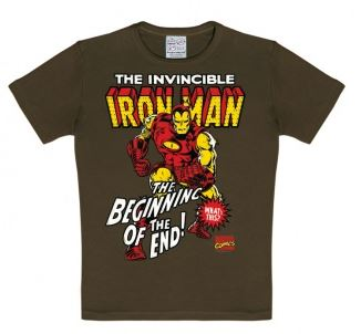 Marvel Iron Man T-Shirt Barn Brun thumbnail