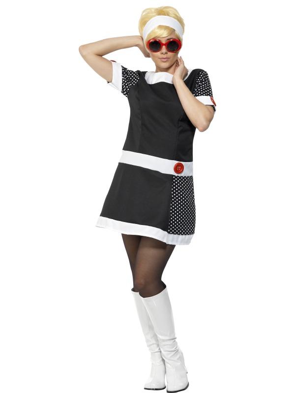 60-tals Chic-kostym