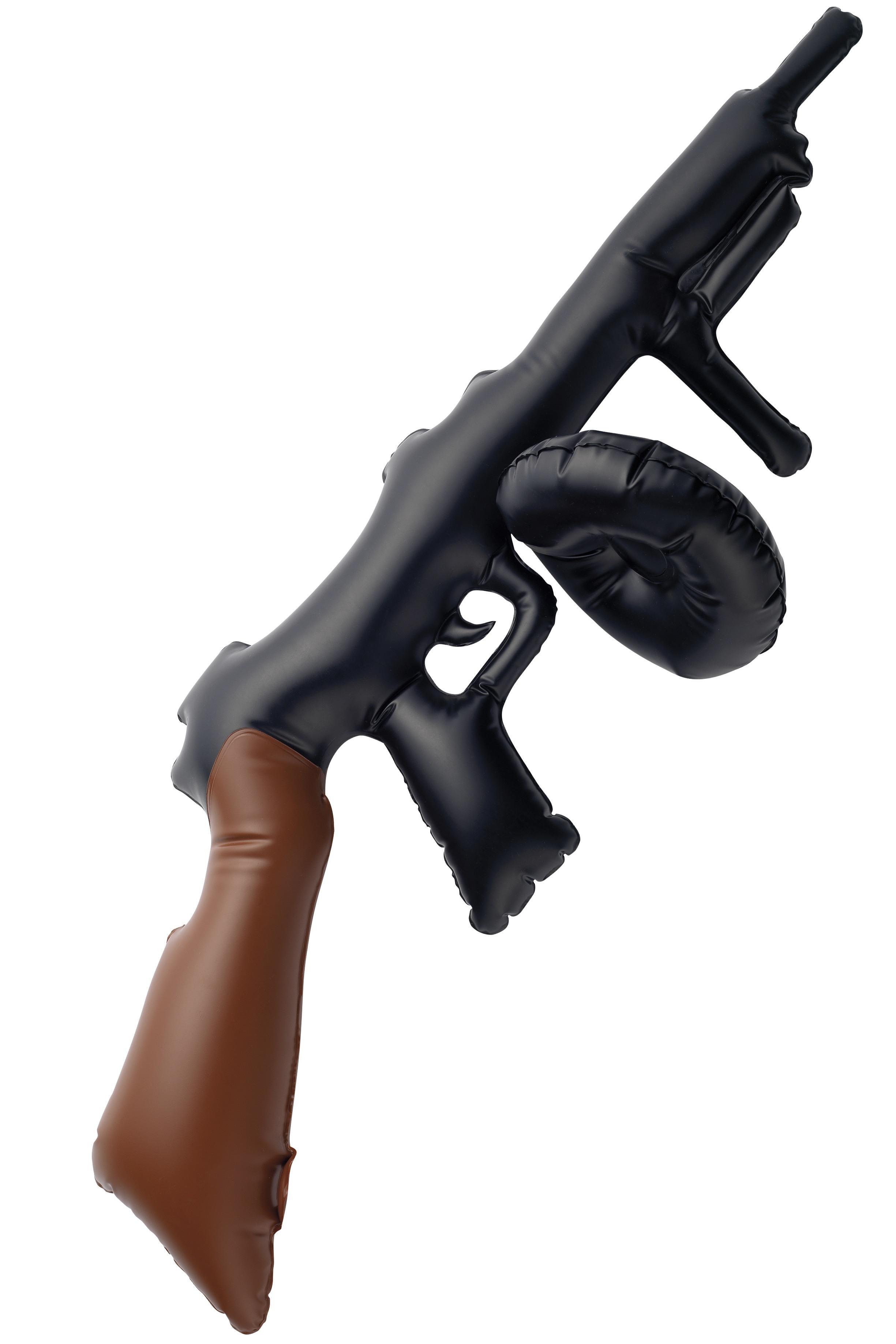 Uppblåsbar Tommy Gun