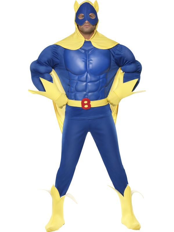 Bananmannen Maskeraddräkt Herr billigt online ... 381afba89b242
