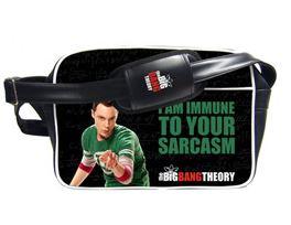 The Big Bang Theory Shoulder Bag Jag är Immun Mot Din Sarkasm thumbnail