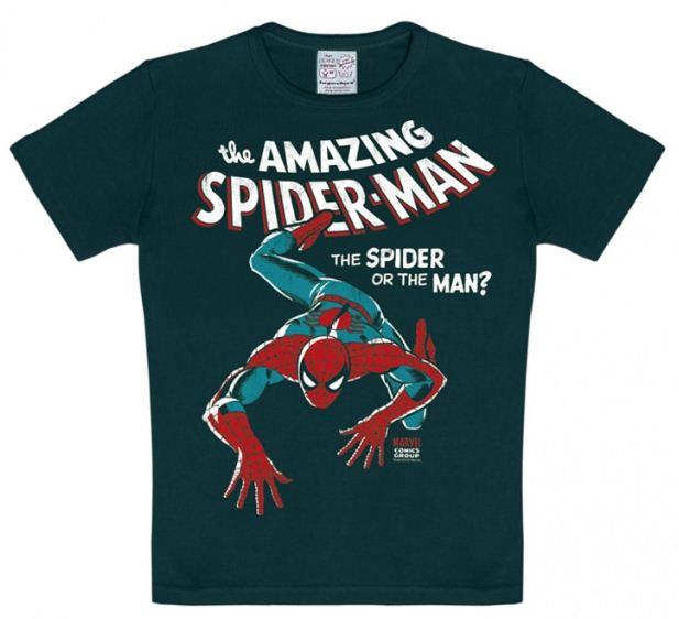 Marvel Den Fantastiska Spindelmannen T-Shirt Barn Svart thumbnail
