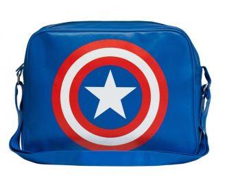 Marvel Kapten Amerika Sköld City Väska thumbnail