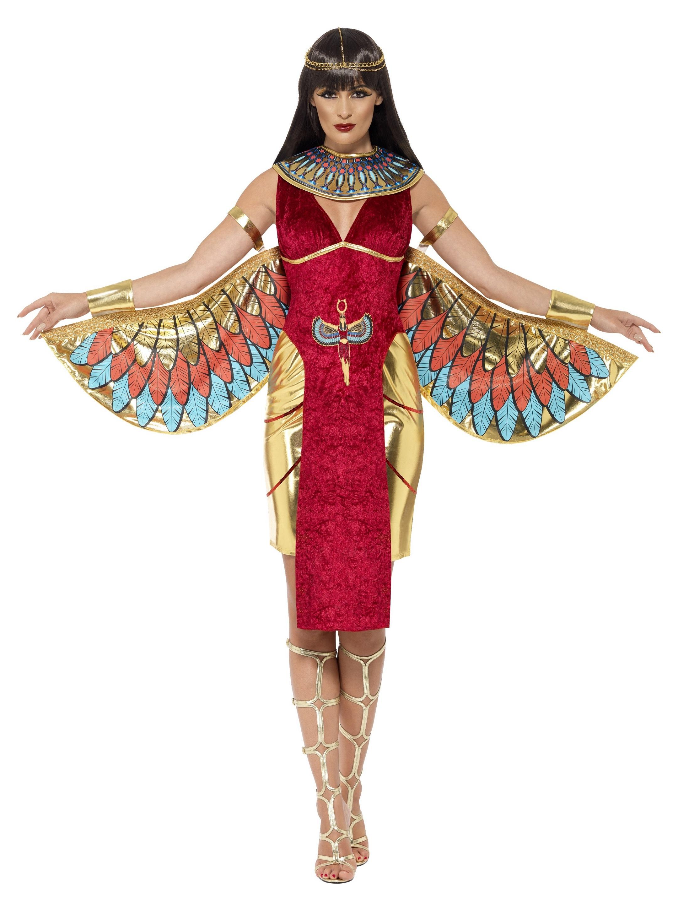 Egyptisk Gudinna Maskeraddräkt