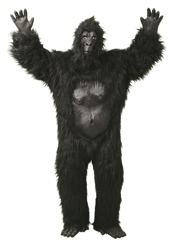 Gorilla Maskeraddräkt thumbnail