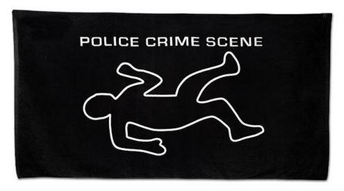 Crime Scene Handduk