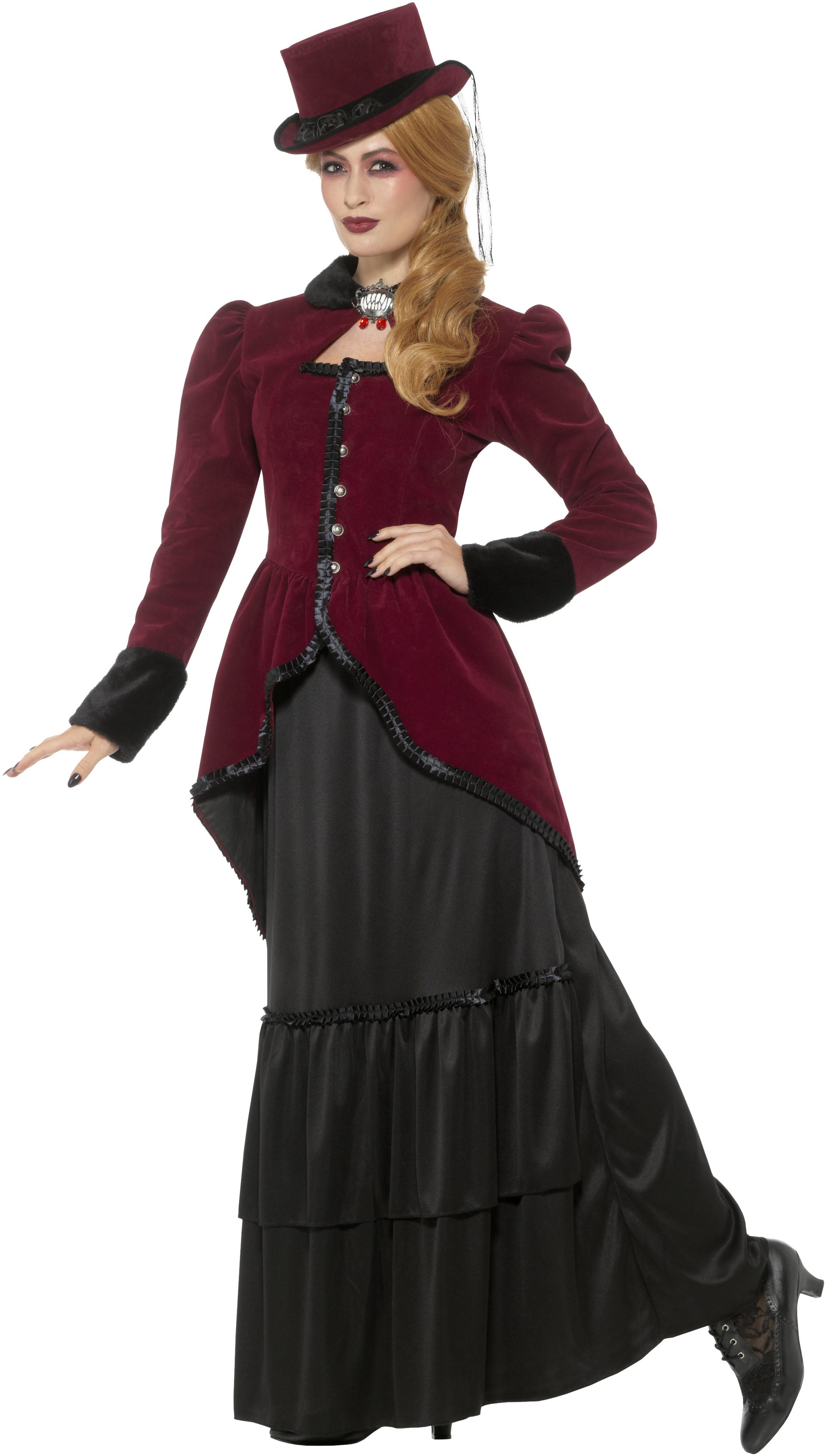 Viktoriansk Vampyrdräkt Deluxe
