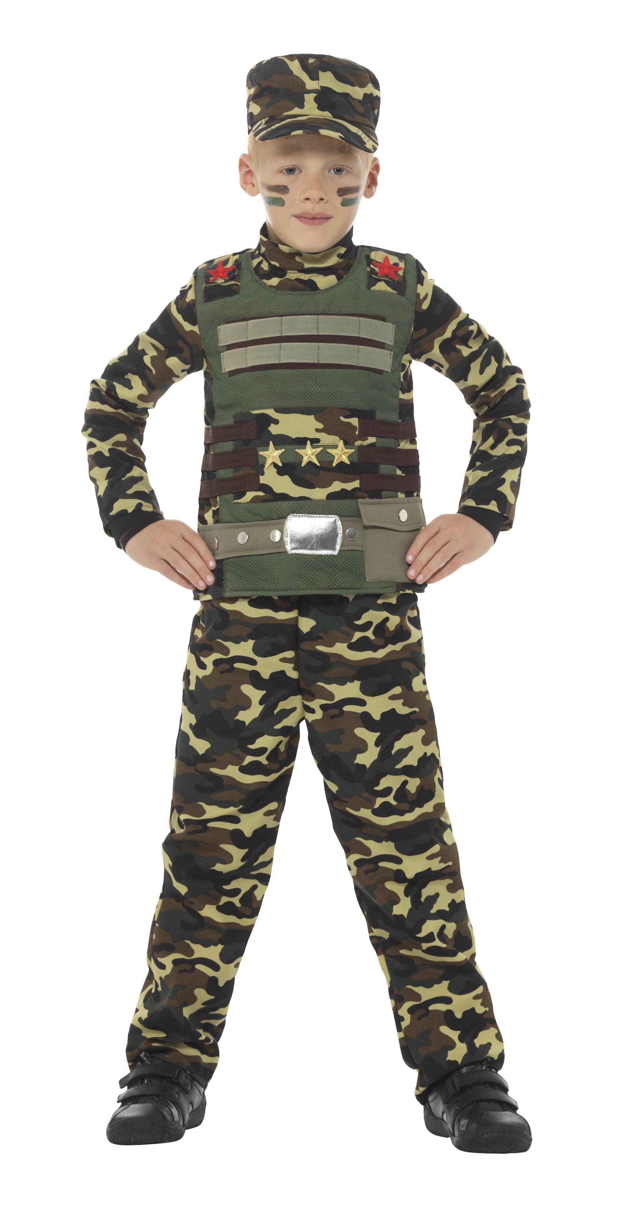 Soldat Maskeraddräkt Barn