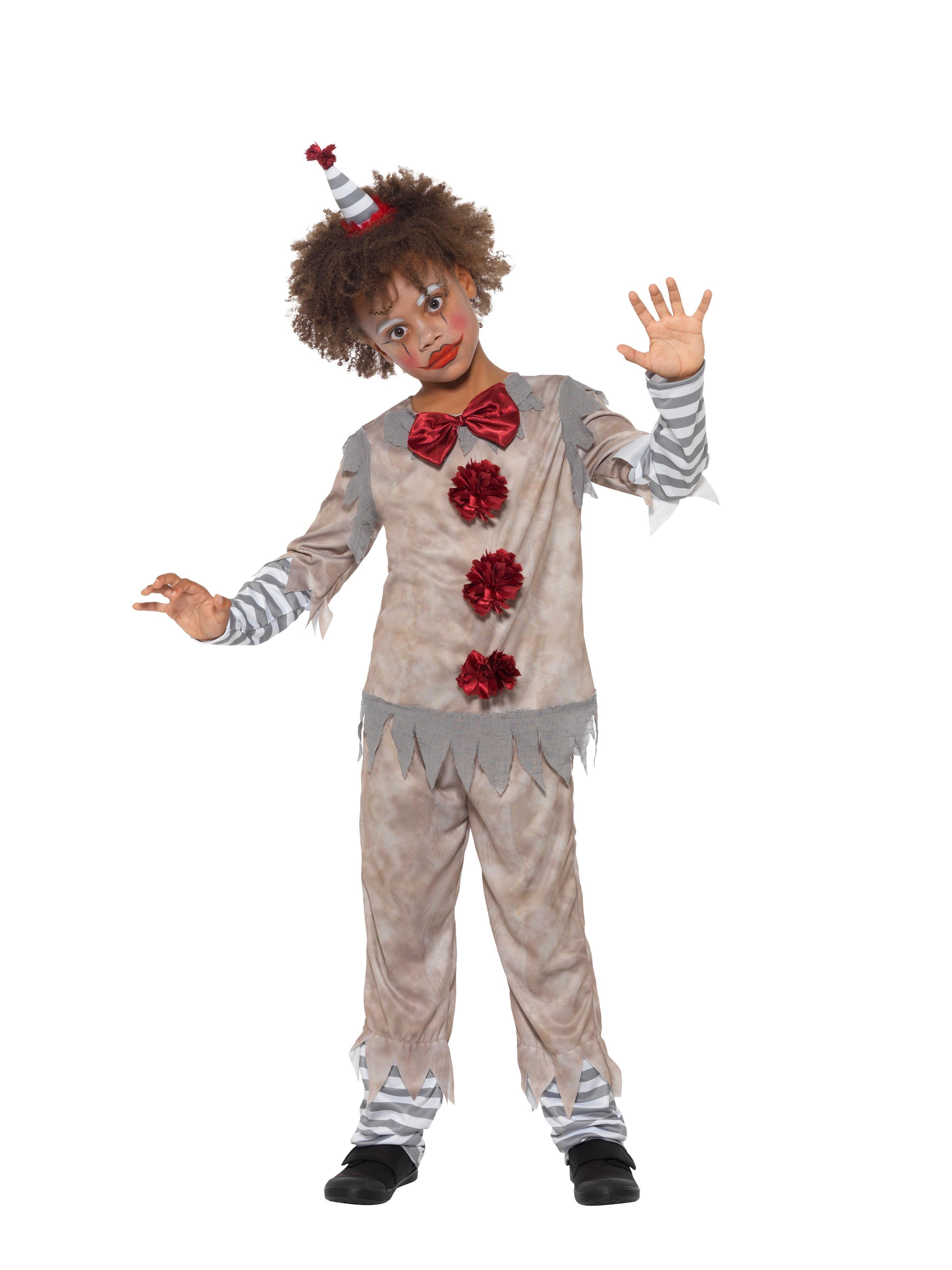 Clown Vintage Maskeraddräkt Barn