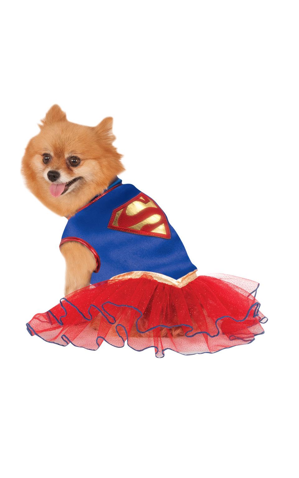 Supergirl Hunddräkt