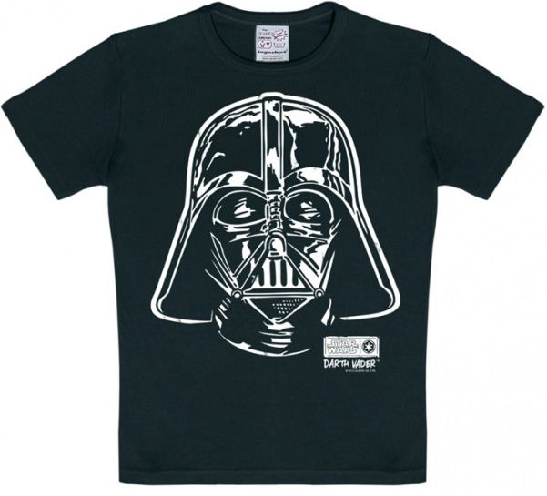 Star Wars Darth Vader T-Shirt Barn Svart thumbnail