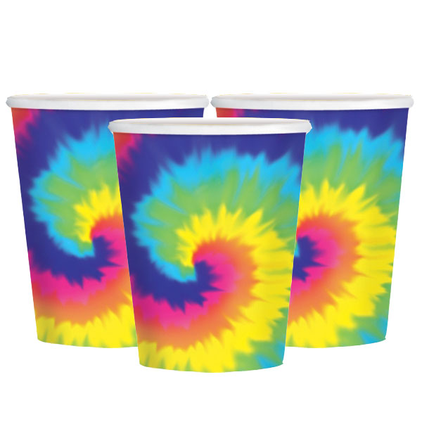 Pappersmugg Hippie 60-tal