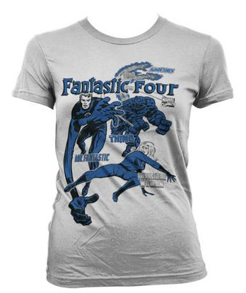 Fantastic Four Dammodell T-Shirt thumbnail