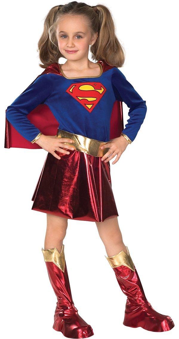 DC Comics Supergirl Deluxe Maskeraddräkt Barn