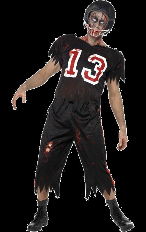 High School Skräck Zombie Fotbollsspelare