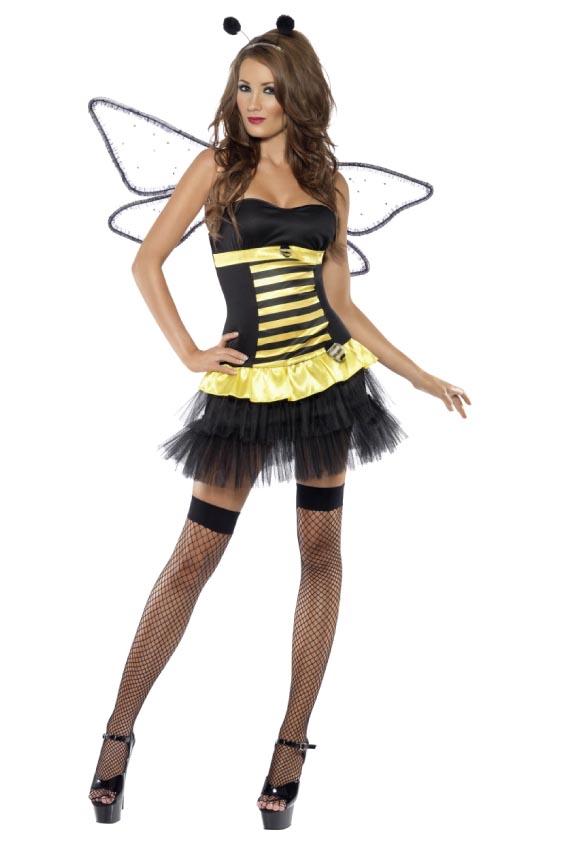 Sexig Humla / Kvinnlig insektskostym