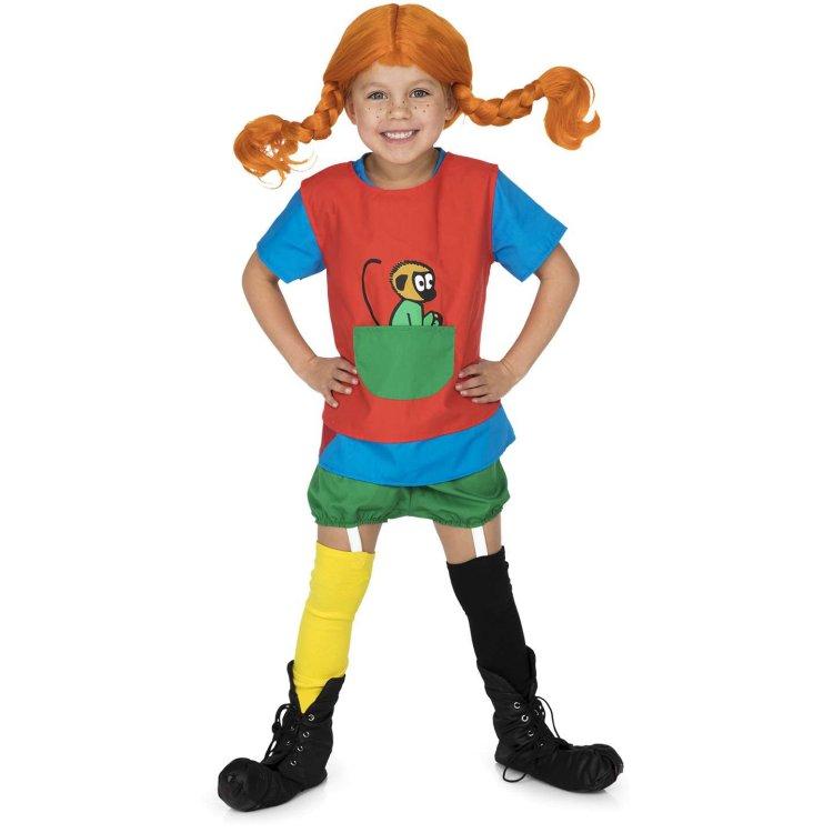 Pippi Långstrump Maskeraddräkt Barn