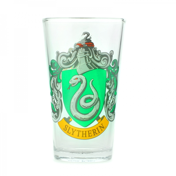 Harry Potter Slytherin Stort Glas thumbnail
