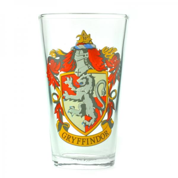 Harry Potter Gryffindor Stort Glas thumbnail