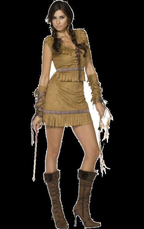 Fever Pocahontas-dräkt vuxen