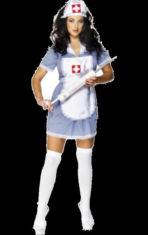 Stygg Sjuksköterskeuniform