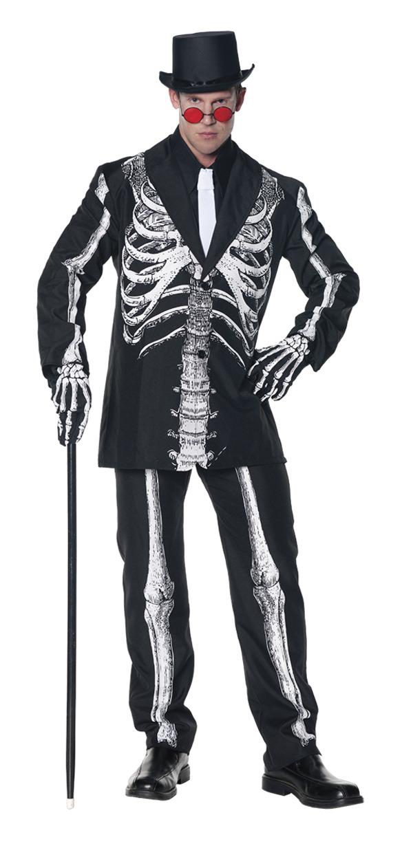 Maskeradkläder Vuxna - Skelett Kostym Maskeraddräkt