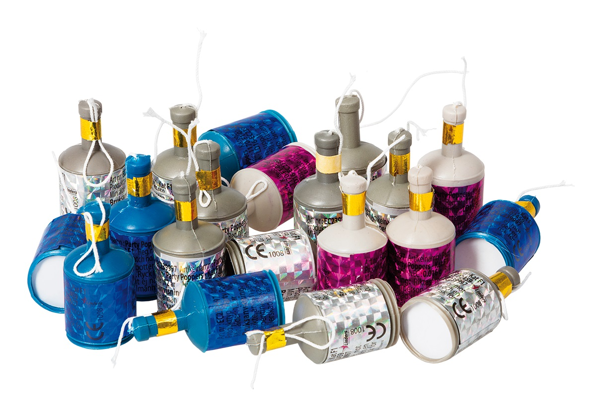 Partypoppers 20-pack
