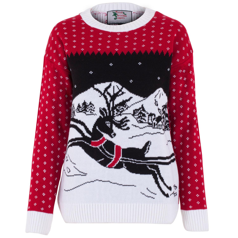 Jultröja Santas Reindeer