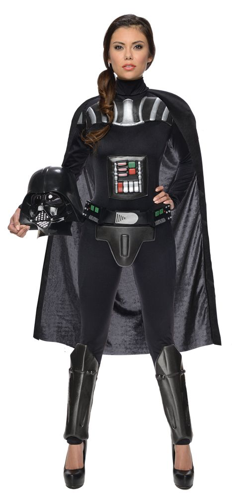 Maskeradkläder Vuxna - Darth Vader Maskeraddräkt Kvinna