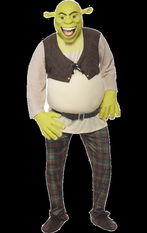 Shrek-dräkt