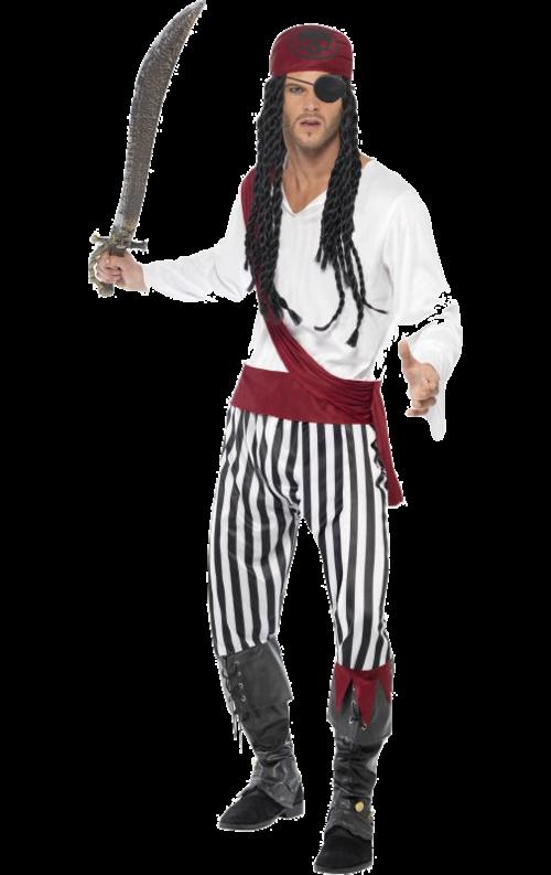 Vår Piratdräkt herr är en outfit med riktig piratkänsla som passar alldeles  perfekt till en maskerad eller till exempel för att uppträda inför barn. 55d1eb58c9cf9
