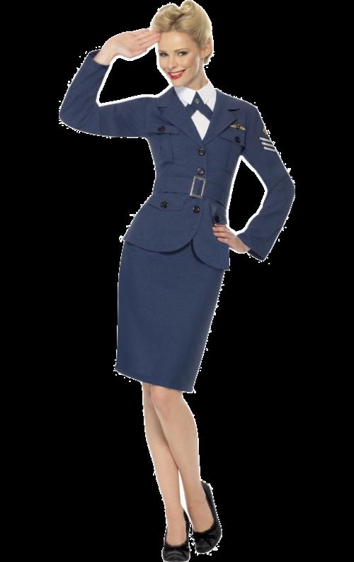 Kvinnlig Flygvapenuniform Andra Världskriget