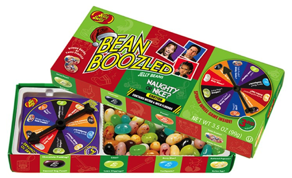 Jelly Belly Naughty Or Nice Spinner Box