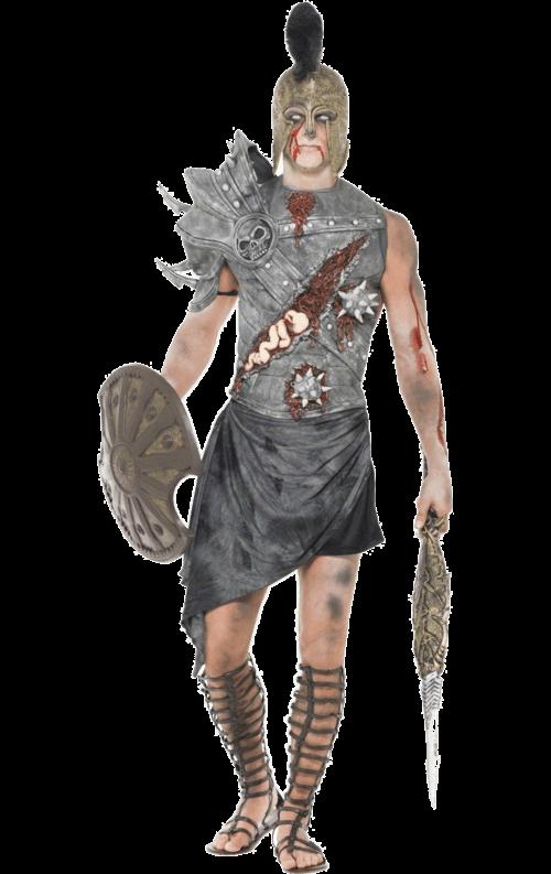 Zombiegladiator Kostym