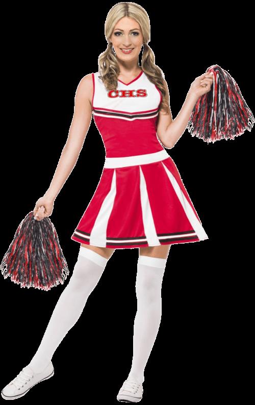 Maskeradkläder Vuxna - Cheerleader Maskeraddräkt