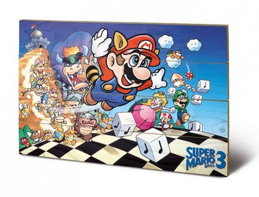 SUPER MARIO BROS. 3 (ART) CANVASTRYCK