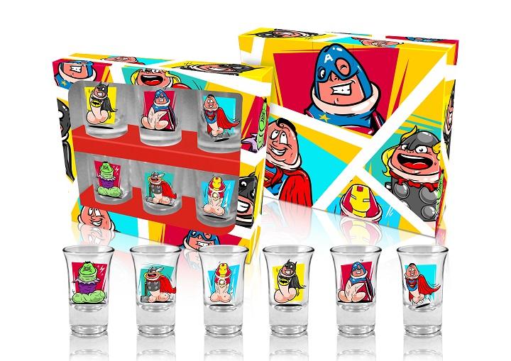 Shotglas Dickengers 6-pack